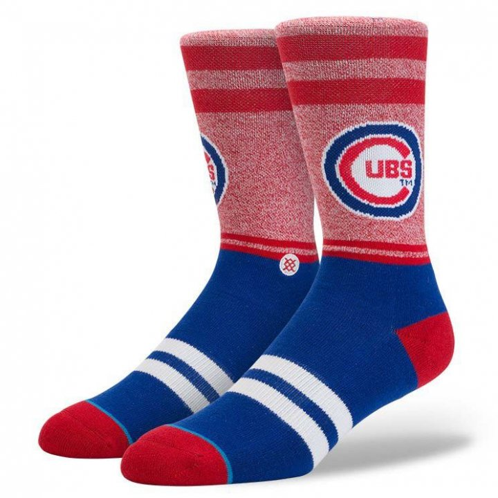Stance Chicago Cubs Socks (Royal)