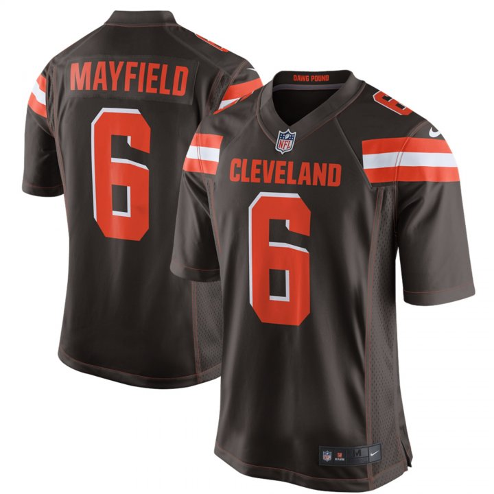 Outerstuff Youth Kids 6 Baker Mayfield Cleveland Browns Jersey brown