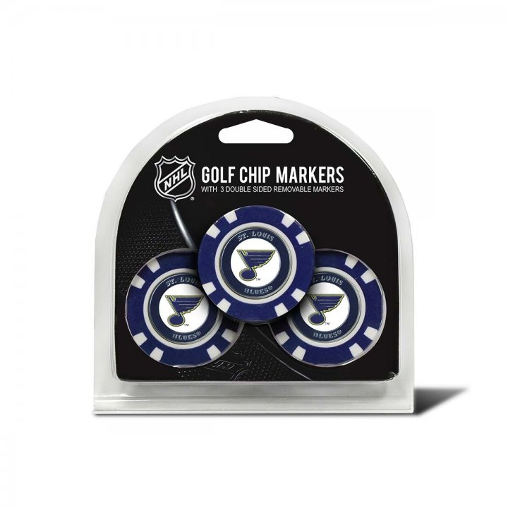 St. Louis Blues Golf Ball Markers 3 Pack