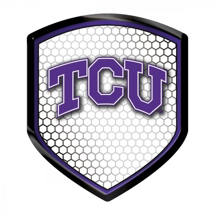 TCU Horned Frogs Shield Reflector