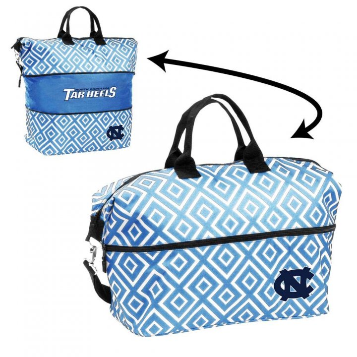 North Carolina Tar Heels Expandable Tote