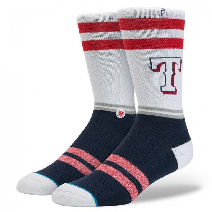Stance Texas Rangers Socks (Navy)