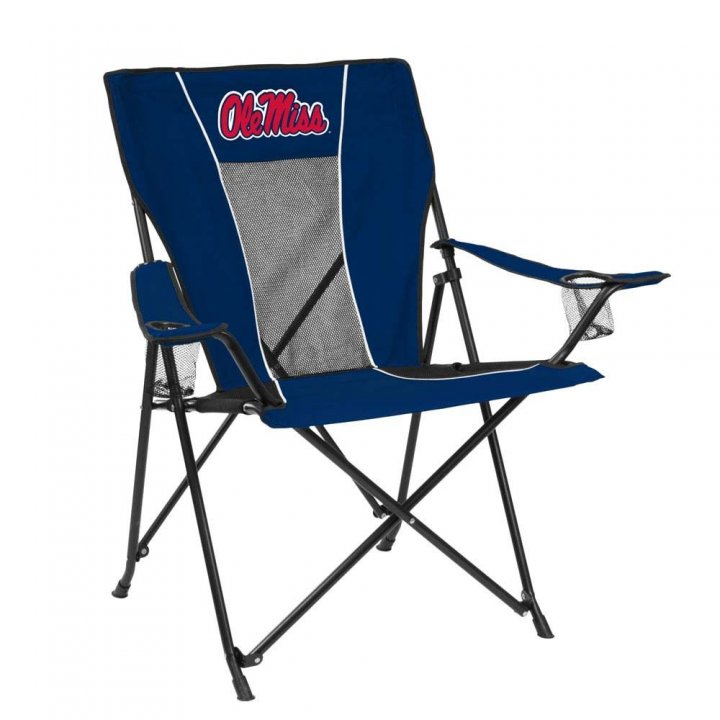 Mississippi Rebels Game Time Chair