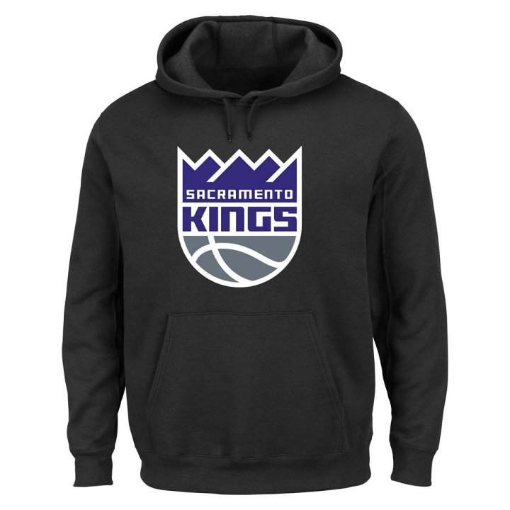 Sacramento Kings Tek Patch Hoodie (Black)