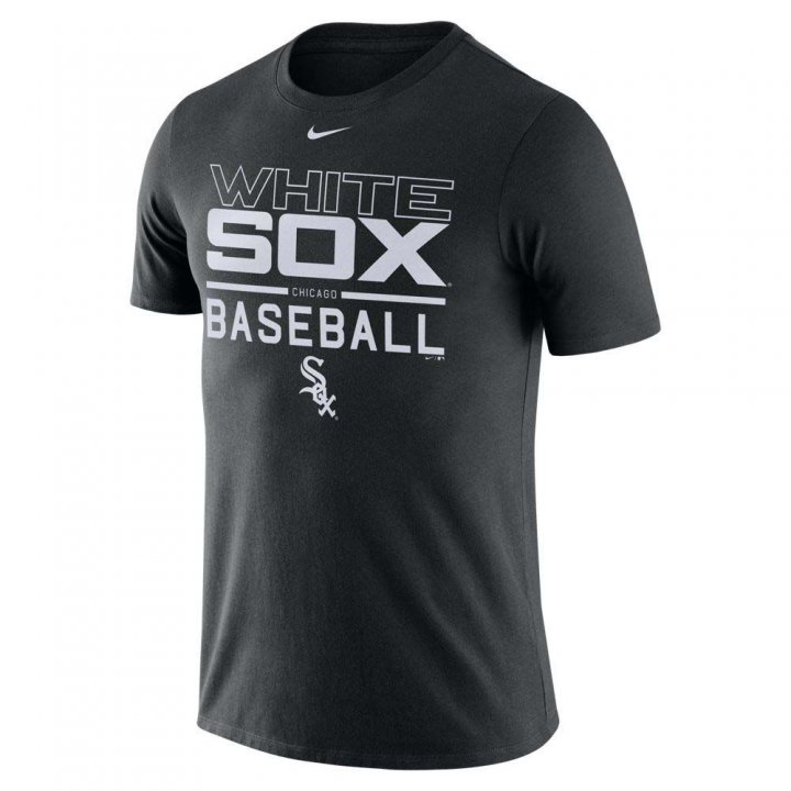 Chicago White Sox MLB Practice Tee (Black)
