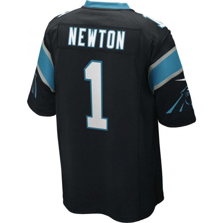 Cam Newton Carolina Panthers Nike Game Jersey (Black)