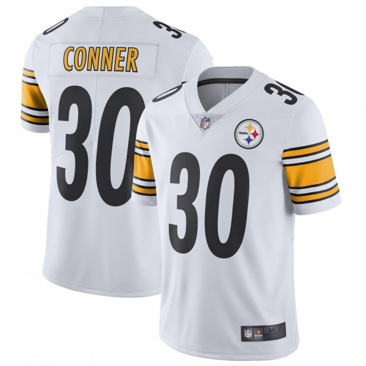 Franklin Sports Youth Kids 30 James Conner Pittsburgh Steelers Jersey White