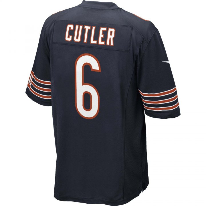Jay Cutler Chicago Bears Nike Game Jersey (Navy)