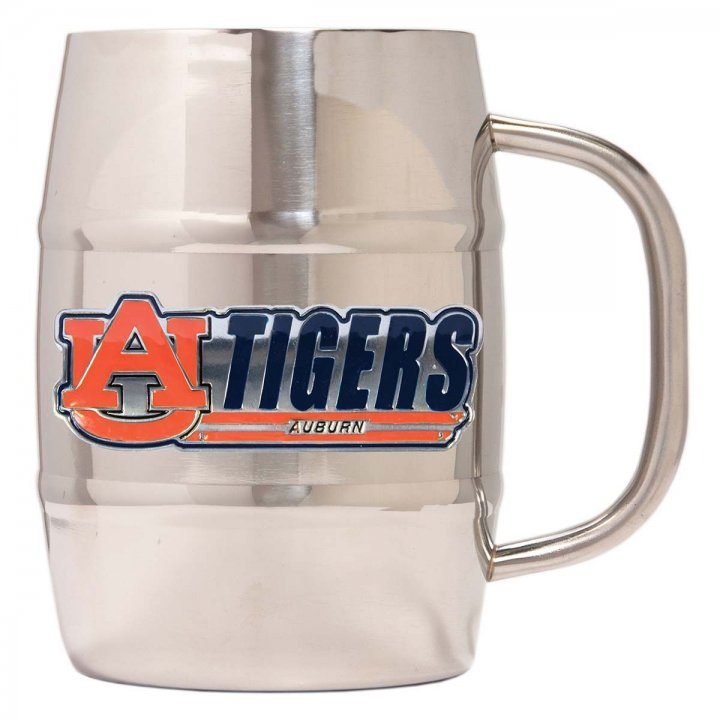 Auburn Tigers Auburn Tigers 32 oz Double Wall Stainless Steel Mug