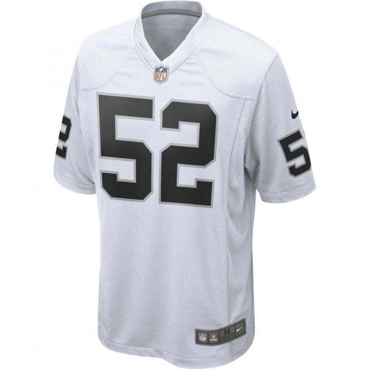 Khalil Mack Oakland Raiders Youth Nike Game Jersey (White)