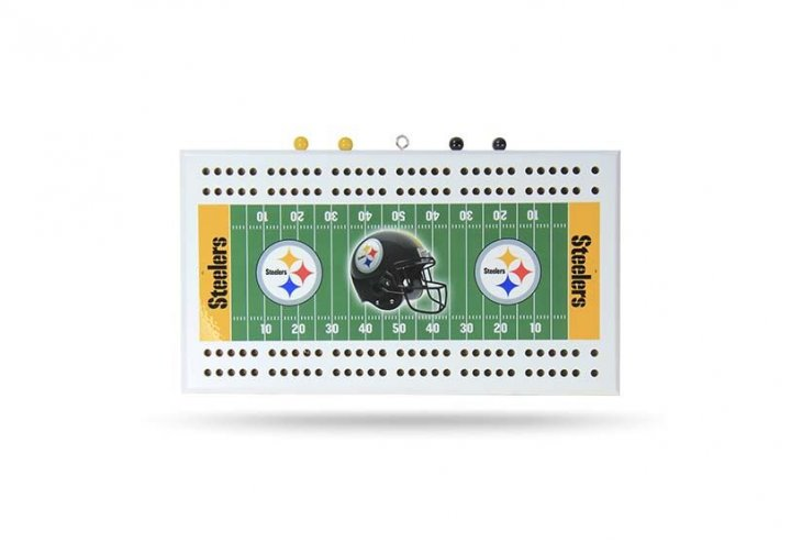Pittsburgh Steelers Field Cribbage Board