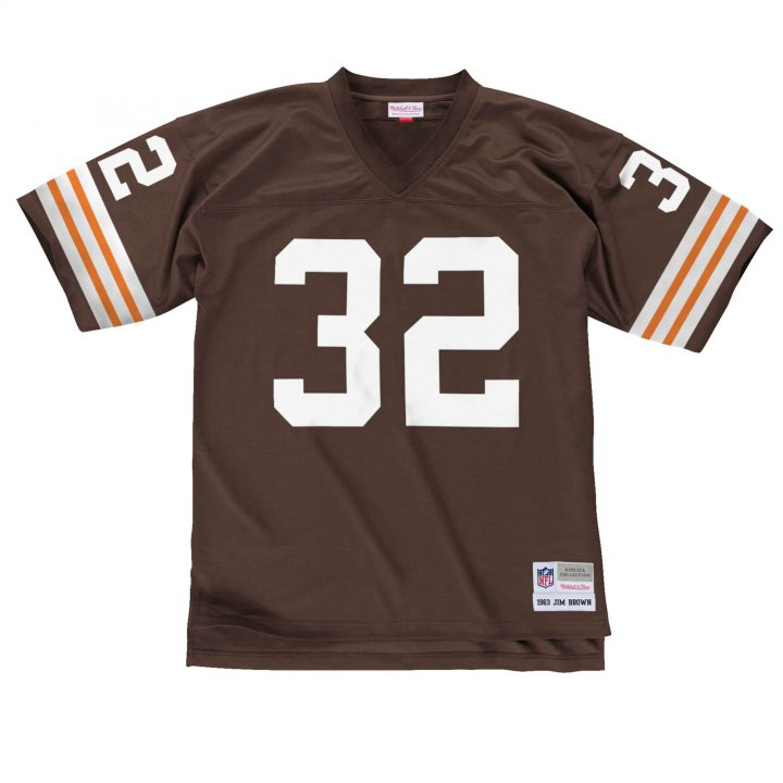 Franklin Sports Men's Jim Brown 1963 Legacy #32 Cleveland Browns Jersey