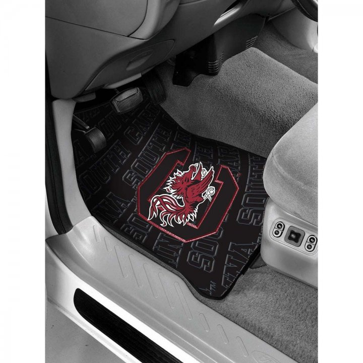 South Carolina Gamecocks Car Front Floor Mat
