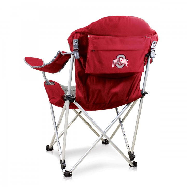 Ohio State Buckeyes Reclining Camp Chair (Red)