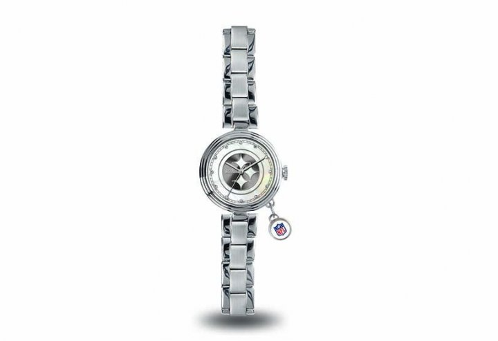 Pittsburgh Steelers Charm Watch