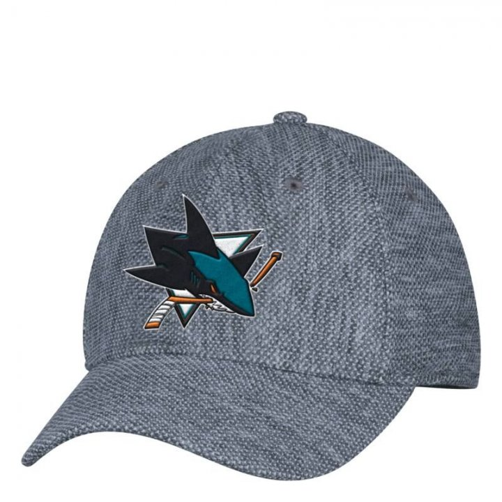 San Jose Sharks NHL Pique Launch Stretch Flex (Gray)