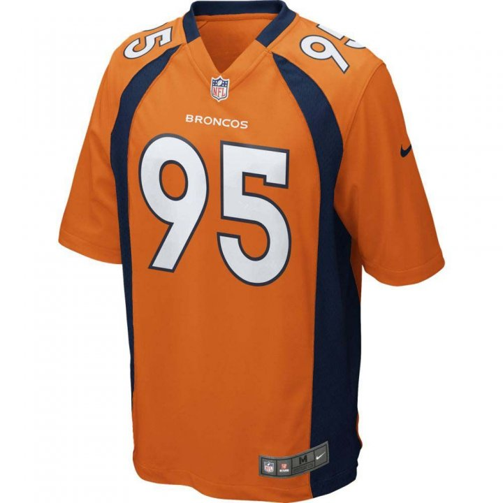 Denver Broncos NFL Derek Wolfe Nike Game Jersey (Orange)