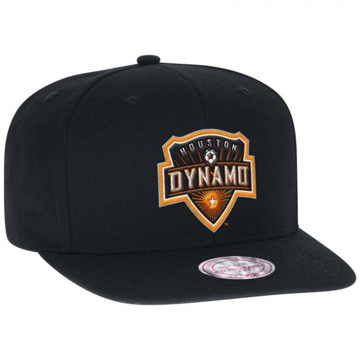 Houston Dynamo MLS Snap Hat (Black)