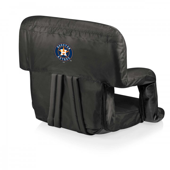 Houston Astros Ventura Seat Portable Recliner Chair (Black)