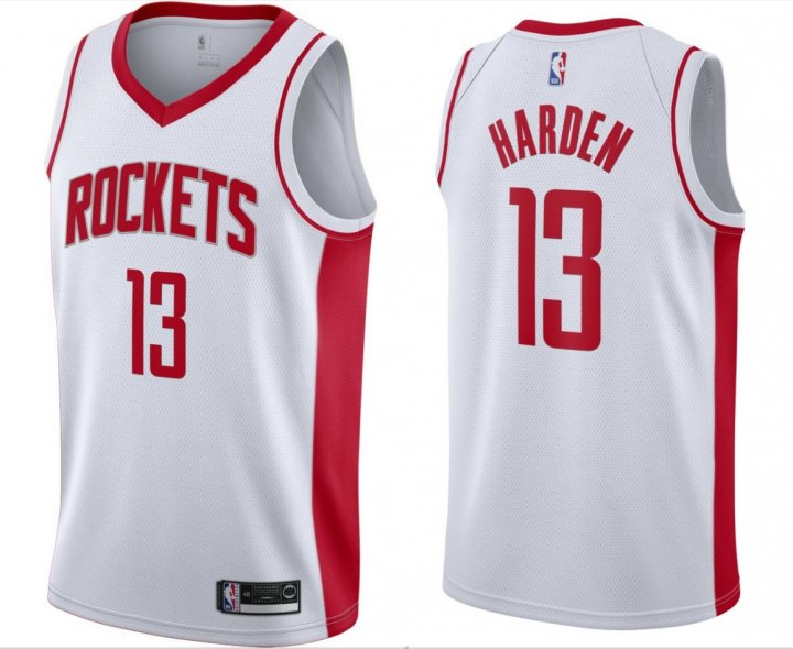 Outerstuff Youth Kids 13 James Harden Houston Rockets Jersey White