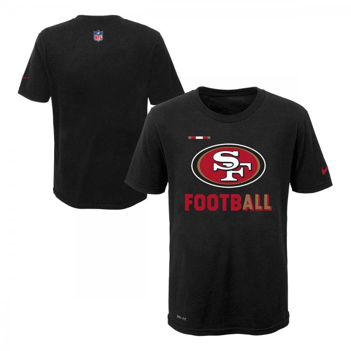 San Francisco 49ers NFL Youth Legend Football Tee (Black)
