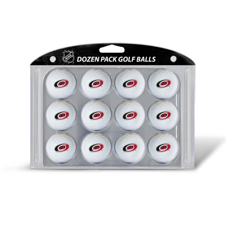 Carolina Hurricanes Golf Balls Dozen Pack