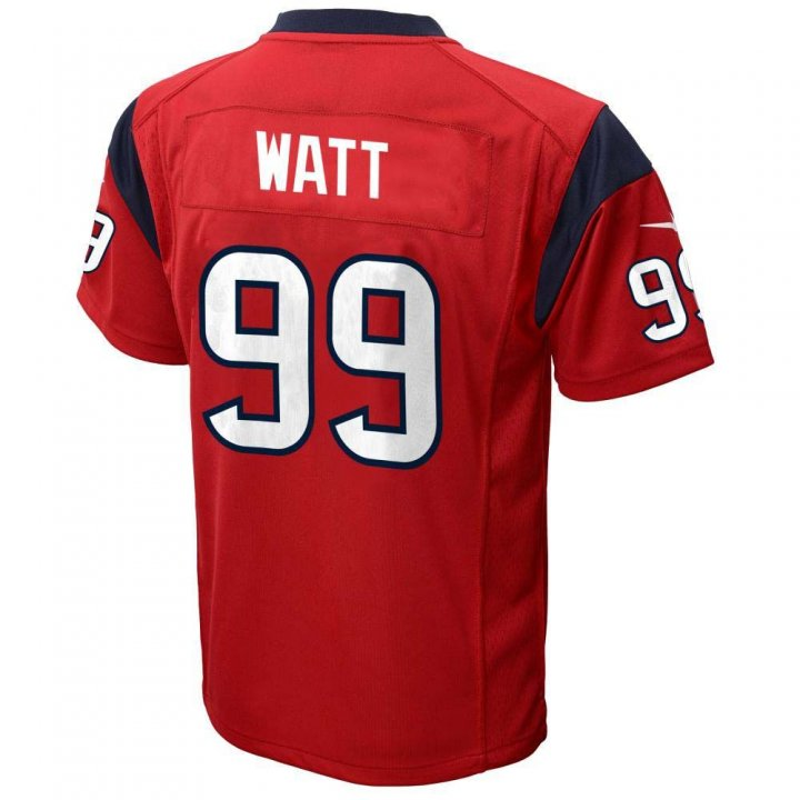 JJ Watt Houston Texans Nike Youth Game Jersey (Red)