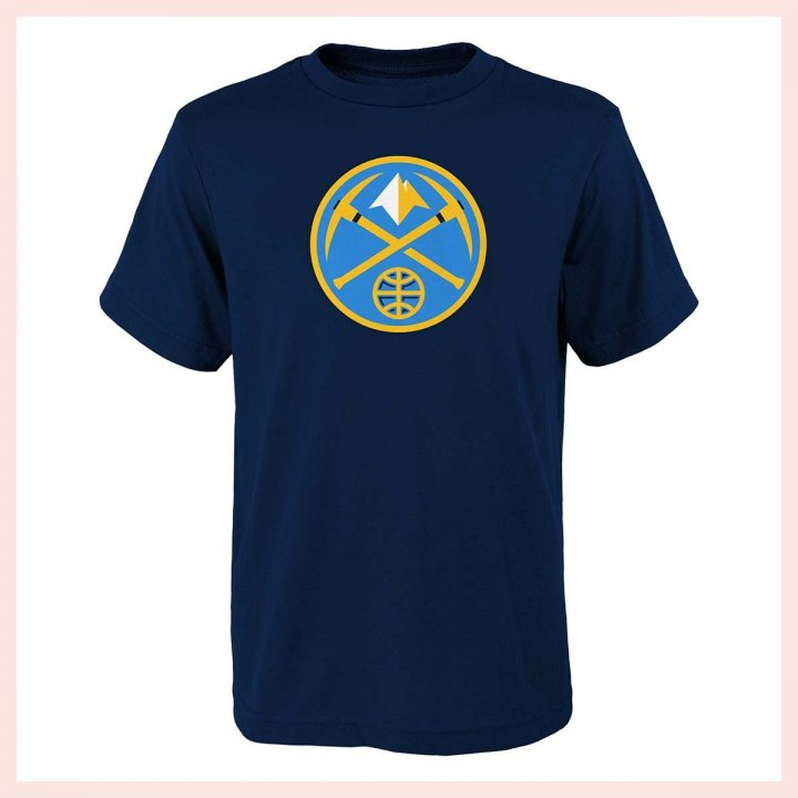 Denver Nuggets NBA Youth Primary Logo Tee (Navy)