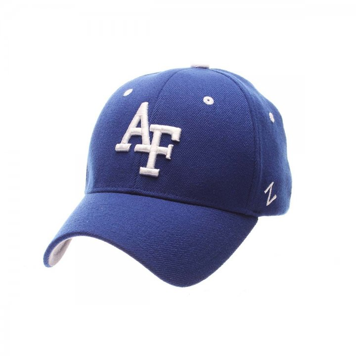 Air Force Falcons ZH Stretch Hat (Royal)