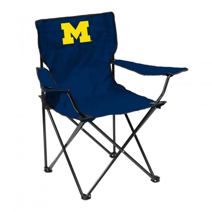 Michigan Wolverines Quad Chair