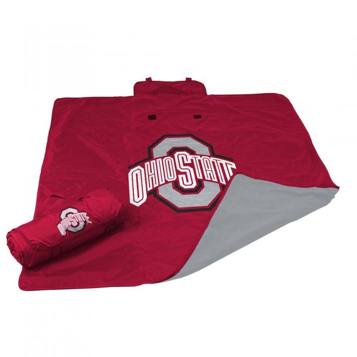 Ohio State Buckeyes All Weather Blanket