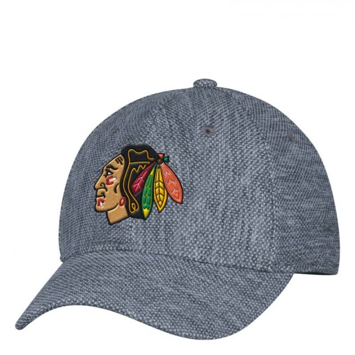 Chicago Blackhawks NHL Pique Launch Stretch Flex (Gray)