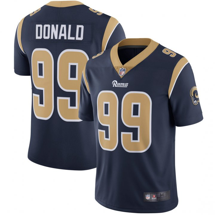 Franklin Sports Youth Kids 99 Aaron Donald Los Angeles Rams Jersey Navy