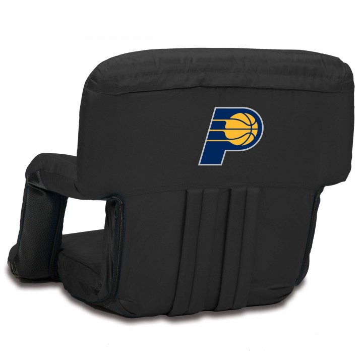 Indiana Pacers Ventura Seat Portable Recliner Chair (Black)