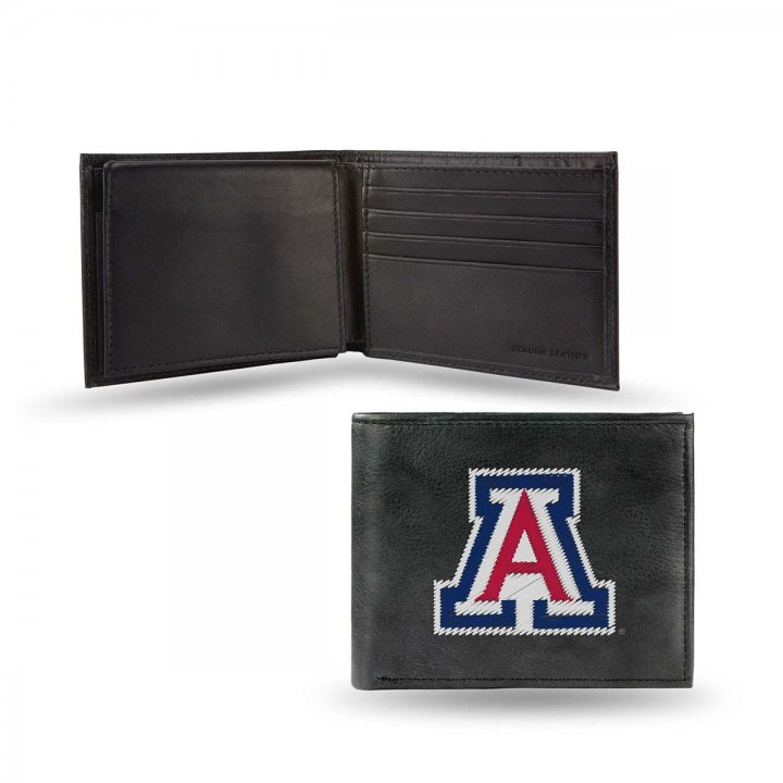 Arizona Wildcats NCAA Leather Wallet (Black)