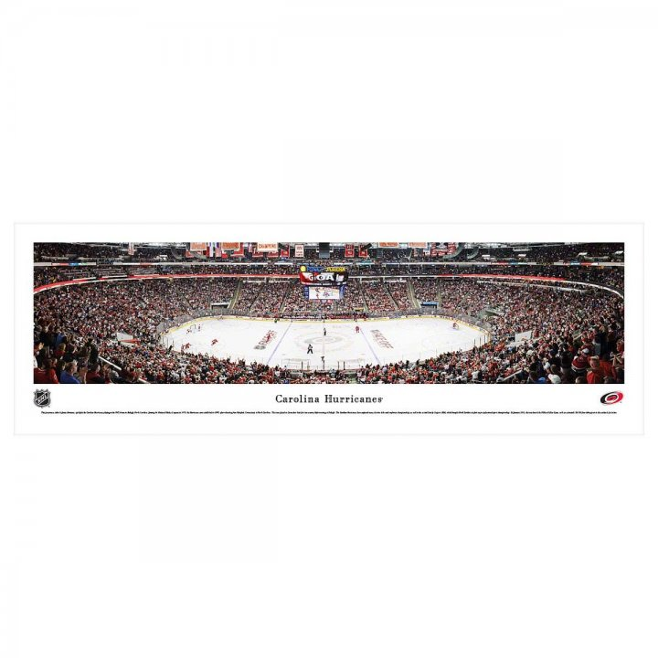 Carolina Hurricanes Unframed Panorama