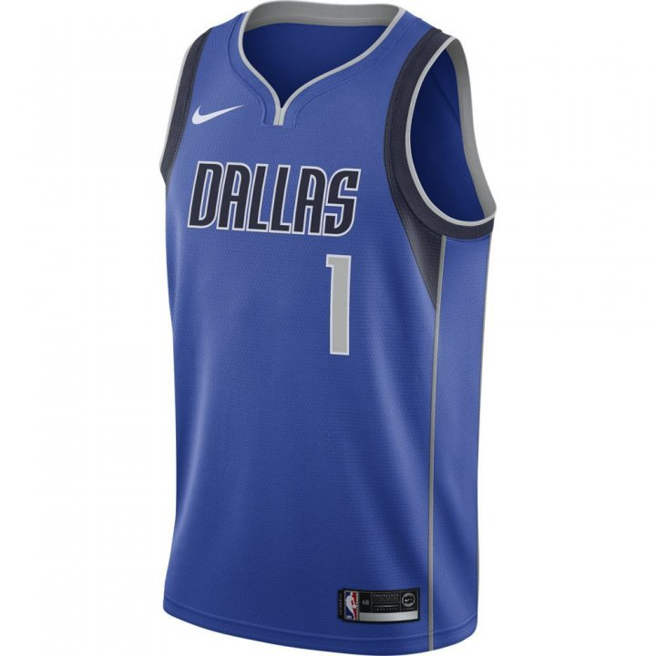 Dallas Mavericks NBA Dennis Smith Jr. Mens Icon Swingman Jersey (Royal)