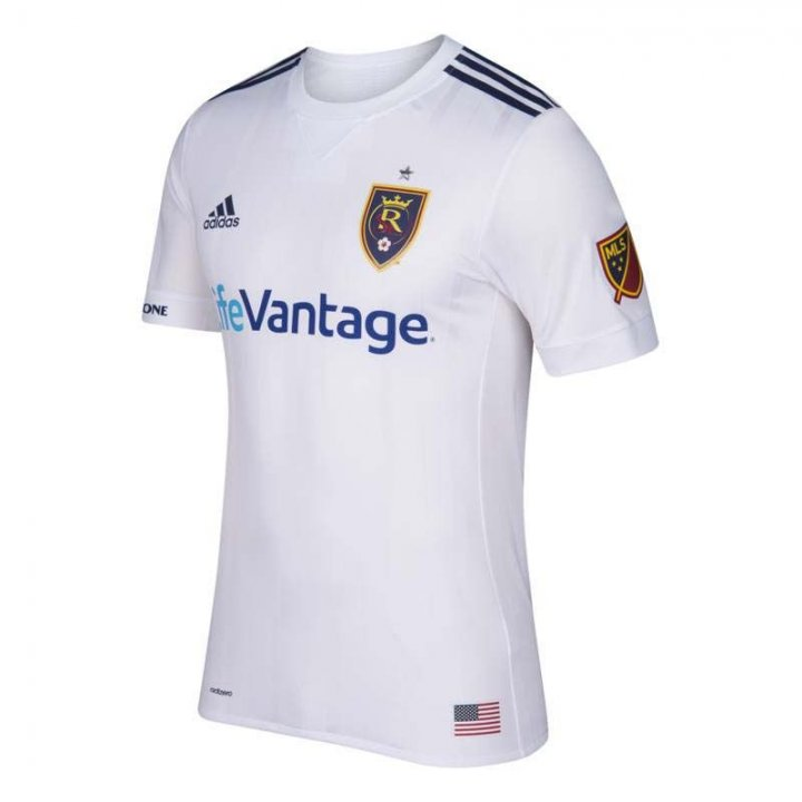 Real Salt Lake MLS Secondary Authentic Jersey (White)
