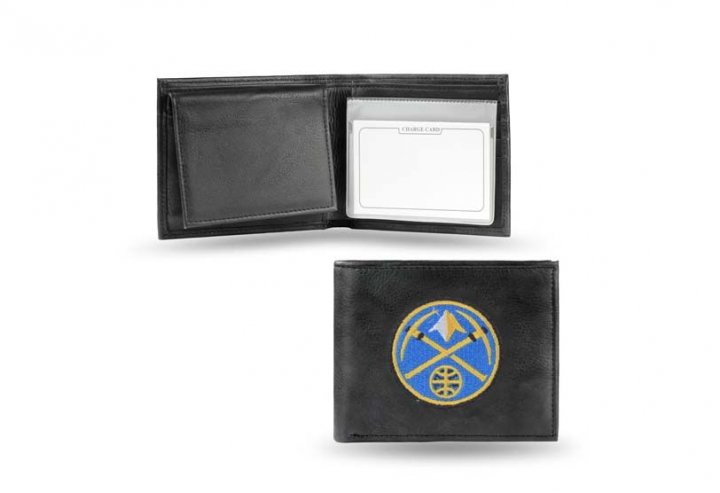 Denver Nuggets NBA Leather Wallet (Black)