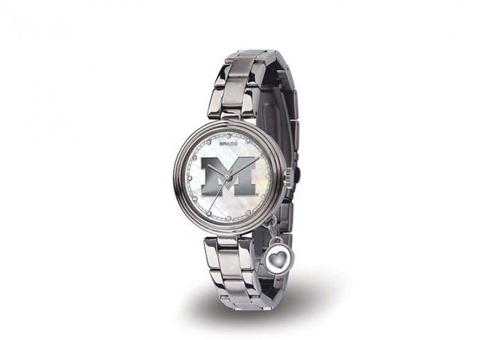 Michigan Wolverines Charm Watch