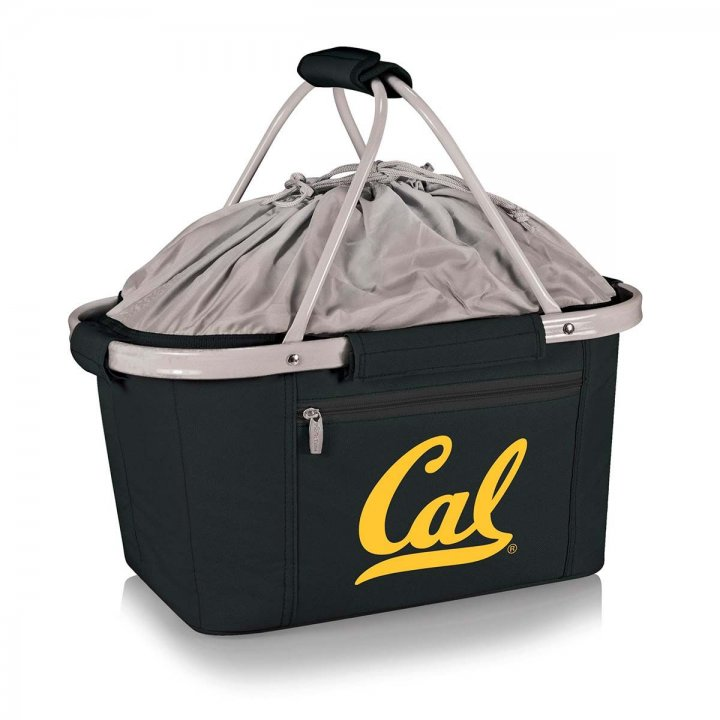 CAL Golden Bears Metro Basket Collapsible Tote (Black)