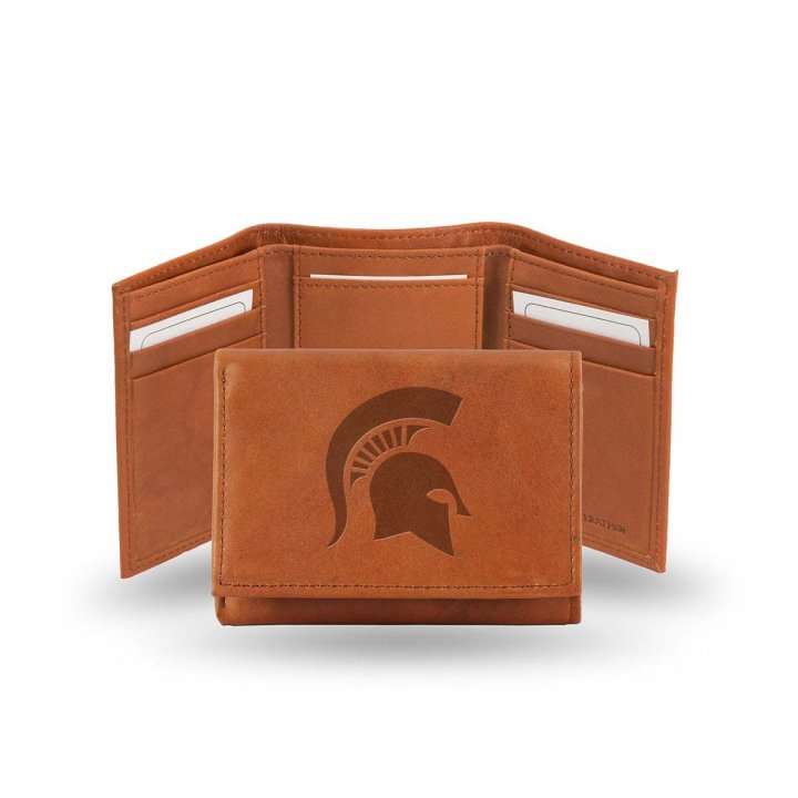 Michigan State Spartans Tri-Fold Wallet