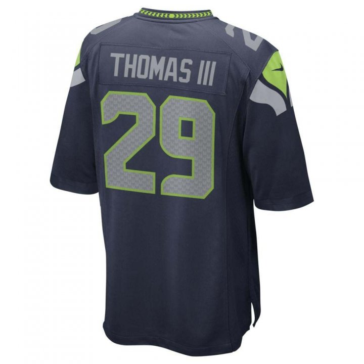 Earl Thomas Seattle Seahawks Nike Youth Game Jersey (Navy)