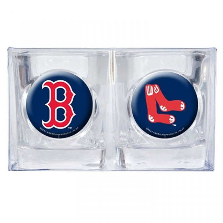 Boston Red Sox 2oz Shot Glass Set