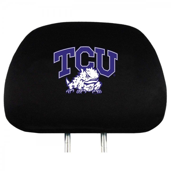 TCU Horned Frogs Headrest Cover