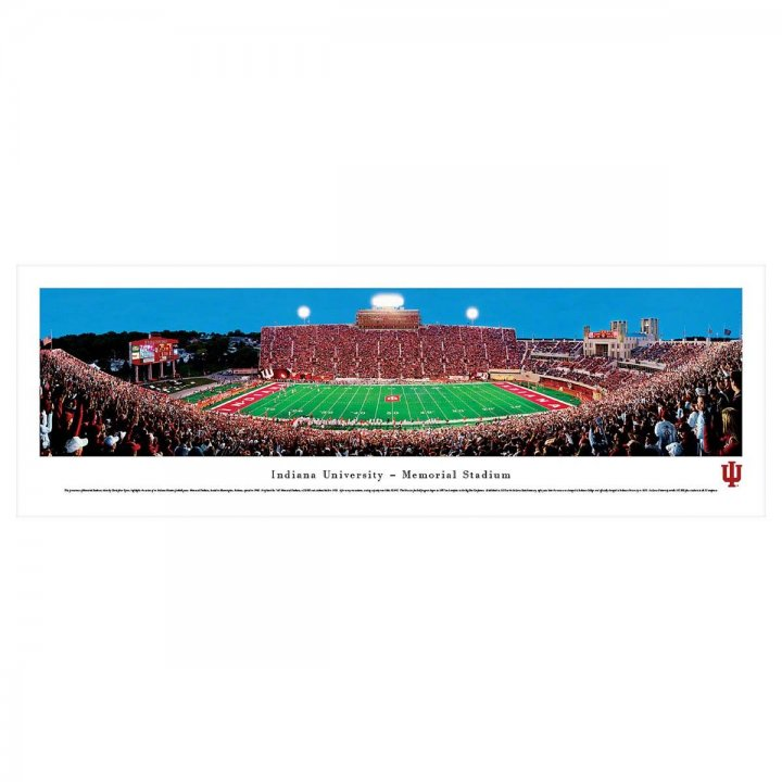 Indiana Hoosiers Unframed Panorama