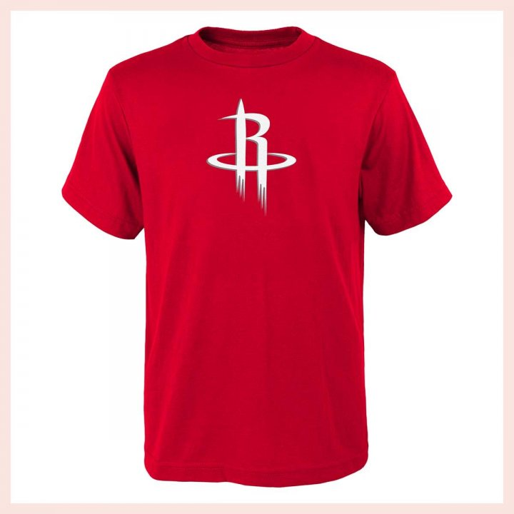 Houston Rockets NBA Youth Primary Logo Tee (Red)