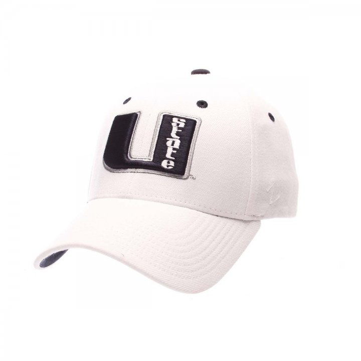 Utah State Aggies ZHS Stretch Hat (White)