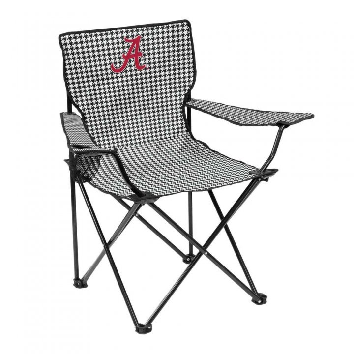 Alabama Crimson Tide Houndstooth Quad Chair