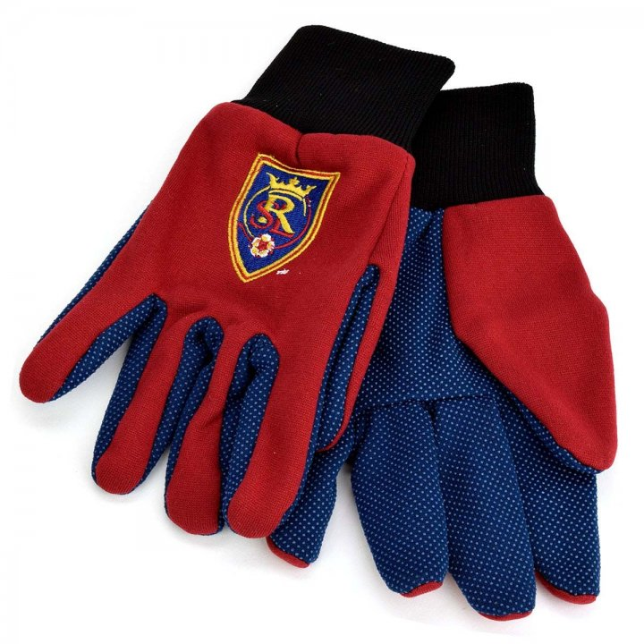 Real Salt Lake Two Color Work Gloves